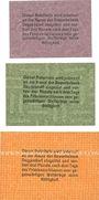 Banknotes Deggendorf. Gewerbebank Deggendorf. Billets. 10, 25, 50 pf 30.1.1917