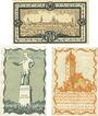 Banknotes Delitzsch. Stadt. Billets. 50 pf 1919 ; 5 pf, 10 pf 1920