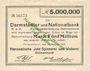 Banknotes Delmenhorst. Hanseatische Jute Spinnerei und Weberei. Billet. 5 millions mark 24.8.1923