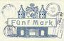 Banknotes Demmin. Stadt. Billet. 5 mark 25.11.1918