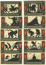 Banknotes Detmold. Stadt. Série de billets. 50 pf (10 ex) août 1920