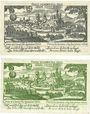 Banknotes Diez. Stadt. Billets. 25 pf décembre 1920 ; 10 pf décembre 1920 (1921)
