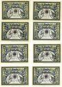 Banknotes Döbeln. Stadt. Billets. 50 pfennig (8ex) 1.9.1921