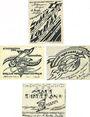 Banknotes Doberan. Bad Stadt. Billets. 25 pf, 50 pf (2ex), 1 mark (1921)
