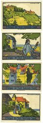 Banknotes Dornburg. Stadt. Billets. 50 pfennig (4ex) du 1.9.1921