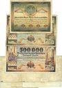 Banknotes Dortmund und Hörde. Stadt und Landkreise.  8 billets 1923