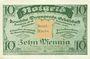 Banknotes Dresde-Altstadt. Deutsche Propaganda - Gesellschaft. Billet. 10 pf fév 1921, sans timbre