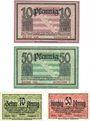 Banknotes Dresden-Altstadt. Amtshauptmannschaft. Billets. 10, 50pf n.d-31.12.1918; 10, 50 pf -30.6.1920