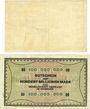 Banknotes Duisburg. Gesellschaft Harkort Billets 2 millions mk 15.8.1923, 100 millions mk 15.9.1923
