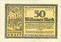 Banknotes Duisburg-Hochfeld. Eisenwerk Kraft Abt. Niederrheinische Hütte billet 50 millions mk 1923