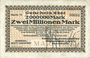 Banknotes Duisburg-Meiderich. Niederrheinische Maschinenfabrik und Waggonbauanstalt GmbH billet 2 millions mk