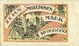 Banknotes Duisburg-Meiderich. Rheinische Stahlwerke. Billet. 10 millions de mark 14.8.1923