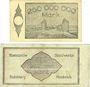 Banknotes Duisburg-Meiderich. Rheinische Stahlwerke. Billets. 250, 500 millions de mark 4.9.1923