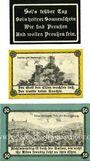 Banknotes Eckartsberga. Stadt. Billets. 25, 50 pf 1.5.1921; 5 pf 1.6.1921