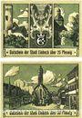 Banknotes Einbeck. Stadt. Billets. 25, 50 pf 20.12.1920, impression brillante