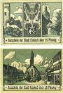 Banknotes Einbeck. Stadt. Billets. 25 pf imp. matte, 50 pf imp. brillante 20.12.1920