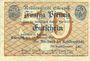 Banknotes Eisenach. Stadt. Billet. 50 pfennig du 14.2.1918