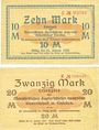 Banknotes Eisleben. Mansfeld a. G.. Billets. 10 mark, 20 mark n. d. - 31.12.1919