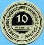 Banknotes Elbingerode. Vereinigte Harzer Portlandcement- und Kalkindustrie. Billet. 10 pf (1920)