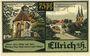 Banknotes Ellrich a. Harz. Stadt. Billet. 75 pfennig 1.9.1921