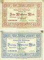 Banknotes Emmendingen. Stadt. Billets. 10, 20 milliards de mark 27.10.1923