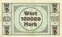 Banknotes Ems, Bad. Stadt. Billet. 100 000 mark 27.7.1923
