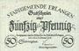 Banknotes Erlangen. Stadt. Billet. 50 pf 29/31.10.1918