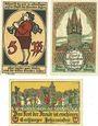Banknotes Eschwege. Stadt. Billets. 5 pf, 10 pf, 50 pf 1919-1920