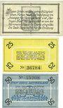 Banknotes Esens. Stadt. Billets. 10 pf, 25 pf, 50 pf n. d.