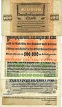 Banknotes Essen. Stadt. Billets. 100000 mk, 500000 mk , 1 million mk, 10 million mk, 5 millions mk 1923