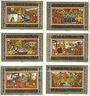 Banknotes Ettlingen. Stadt. Série de 6 billets 50 pfennig 1921
