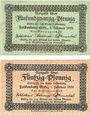 Banknotes Falkenberg (Jaczowice, Pologne). Kreis. Billets. 25 pf, 50 pf 1.2.1920