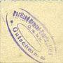 Banknotes Finkenwalde (Zdroje, Pologne). Portland Cement-Fabrik G.m.b.H. Billet. 1 pf (1919)