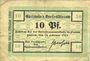 Banknotes Flatow (Zlotow, Pologne). Kreis. Billets. 10 pfennig 14.2.1917 - 1.10.1918