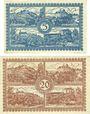 Banknotes Flöha. Amtshauptmannschaft. Billets. 5 mark, 20 mark 1.11.1918