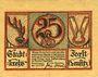 Banknotes Forst in Lausitz (Zasieki, Pologne). Billet. 25 pf 1.6.1920