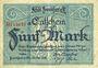 Banknotes Frankfurt am Main. Billet. 5 mark 15.10.1918, série a