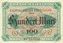 Banknotes Frankfurt am Main. Chemische Fabrik Griesheim - Elektron. Billet. 100 mark 30.9.1922