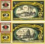Banknotes Freiberg. Stadt. Billet. 1 mark série (Reihe) A - B 1921