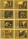 Banknotes Freiberg. Stadt. Série de 8 billets. 75 pf  1921