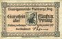 Banknotes Freiburg im Breisgau. Stadt. Billet. 50 pf sept 1917