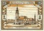 Banknotes Friedeberg am Queis (Mirsk, Pologne). Städtische Sparkasse. Billet. 25 pf 15.2.1922