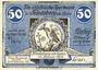 Banknotes Friedeberg am Queis (Mirsk, Pologne). Städtische Sparkasse. Billet. 50 pf 15.2.1922