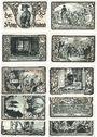 Banknotes Friedrichsbrunn. Gemeinde. Série de 10 billets. 50 pfennig 15.10.1921