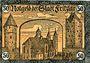 Banknotes Fritzlar. Stadt. Billet. 50 pf 11.10.1920, étoile après le numéro de 3,5 mm