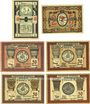 Banknotes Frose. Gemeinde. Billets. 10 (= 2 x 5) pf n.d., 25 pf, 50 pf (4ex) 15.3.1921