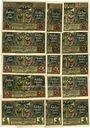 Banknotes Fürstenwalde, Stadt, billets, 20 pf (3ex), 25 pf (3ex), 50 pf (3ex), 75 pf (3ex), 1 mark (3ex) 1921