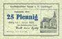 Banknotes Gardelegen. Kaufmännischer Verein. Billet. 25 pf 1.1.1921