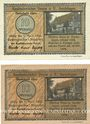 Banknotes Gardelegen. Kaufmännischer Verein. Billets. 10 pf (2 ex) 1.3.1921