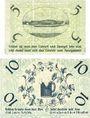 Banknotes Gardelegen. Kaufmännischer Verein. Billets. 5 pf, 10 pf  1.5.1920, 2e émission